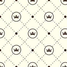 papel-de-parede-coroas-principe-e-princesas-amarelo-claro
