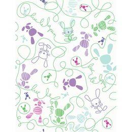 papel-de-parede-risco-e-rabisco-coelhos-verde