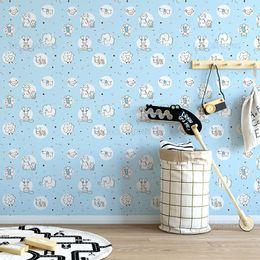 papel-de-parede-animais-fofinhos-zoologico-azul-claro1