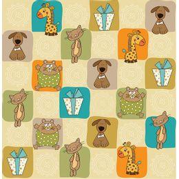 papel-de-parede-cachorrinhos-gatinhos-e-girafinhas-bege