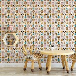 papel-de-parede-animais-do-zoologico-colorido1