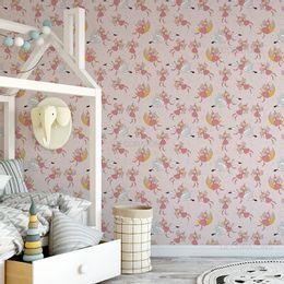 papel-de-parede-fadas-encantadas-rosa-claro1