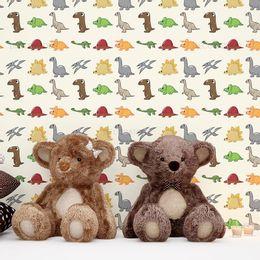 papel-de-parede-dinossauros-bonitinhos-creme1