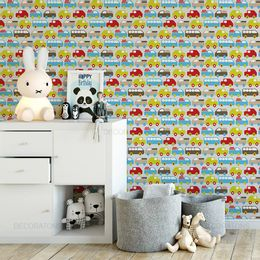 papel-de-parede-carros-e-onibus-fofinhos-colorido1