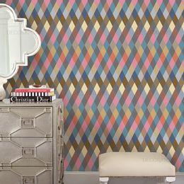 papel-de-parede-geometrico-losango-marrom1