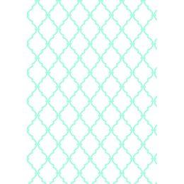 papel-de-parede-geometrico-turquesa