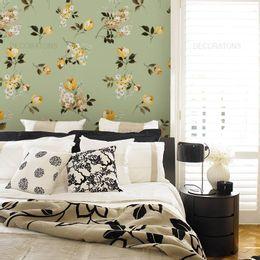 papel-de-parede-ramalhete-de-flores-verde-claro1