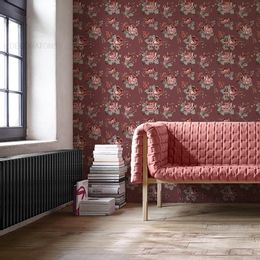 papel-de-parede-rosas-camurca-vinho1
