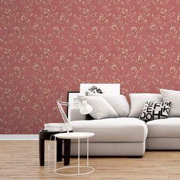 papel-de-parede-rosas-silhueta-vermelha1