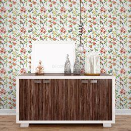papel-de-parede-floral-passaros-colorido1