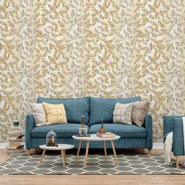 papel-de-parede-folhas-classica-tons-de-palha1