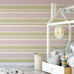 papel-de-parede-listrado-horizontal-infantil-cores-quentes