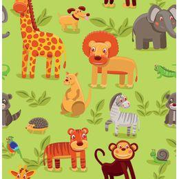 papel-de-parede-savana-verde