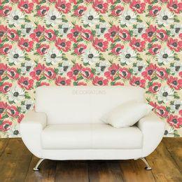 papel-de-parede-lindas-flores-bege1
