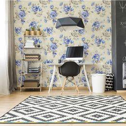 papel-de-parede-rosas-azul-vintage-palha1