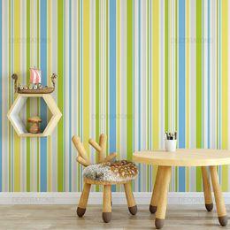 papel-de-parede-listrado-infantil-cores-vibrantes