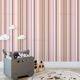 papel-de-parede-listrado-vertical-rosa-listras-finas