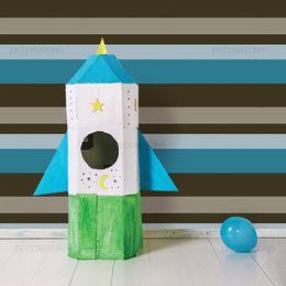 papel-de-parede-listrado-horizontal-azul-e-marrom