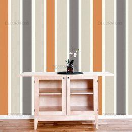 papel-de-parede-listrado-vertical-laranja-e-cinza