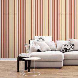 papel-de-parede-listrado-vertical-coral-e-amarelo