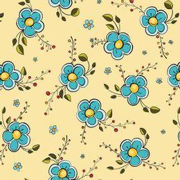 papel-de-parede-flores-e-frutinhas-amarelo