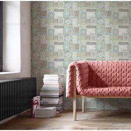 papel-de-parede-harmonia-patchwork-turquesa