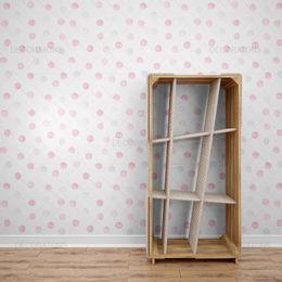 papel-de-parede-bolinhas-harmonia-rosa