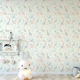 papel-de-parede-girafa-e-flores-champanhe