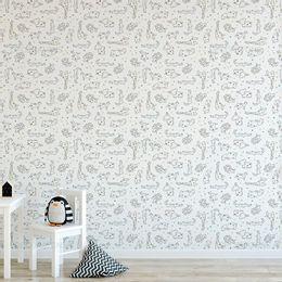 papel-de-parede-animais-de-zoologico-delicado-colorido-1
