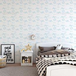 papel-de-parede-ondas-do-mar-e-barco-azul-claro-1