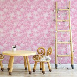 papel-de-parede-borboletas-rosa-1