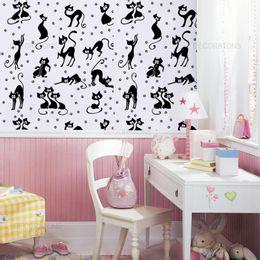 papel-de-parede-gatinhos-engracados-preto-1