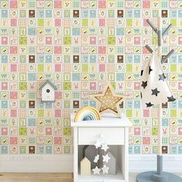 papel-de-parede-selos-infantis-colorido