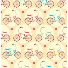 papel-de-parede-bicicletas-infantil-amarelo-claro