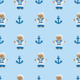 papel-de-parede-urso-marinheiro-com-ancora-azul-claro