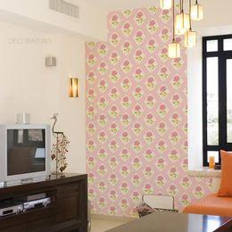 papel-de-parede-vintage-rosas-rosa-claro