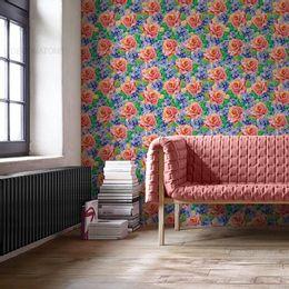 papel-de-parede-pintura-floral-rosas-colorido-1