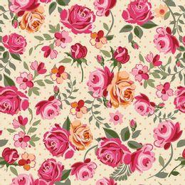 papel-de-parede-floral-rosas-champanhe