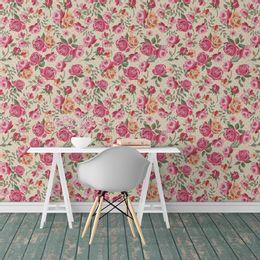 papel-de-parede-floral-rosas-champanhe-1