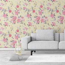 papel-de-parede-buque-de-rosas-bege