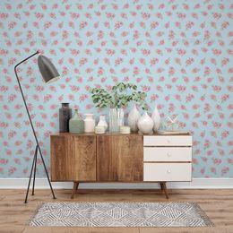 papel-de-parede-rosas-tracejadas-azul-claro