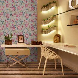 papel-de-parede-rosas-em-paisagismo-cinza