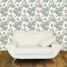 papel-de-parede-cravos-e-rosas-delicadas-azul-claro