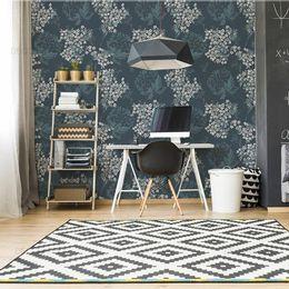 papel-de-parede-floral-moderno-tropical-azul-acinzentado