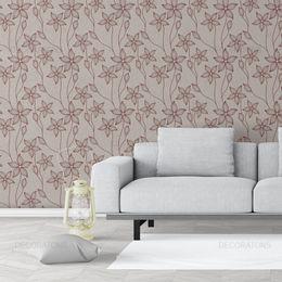papel-de-parede-vintage-com-flores-avela