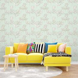 papel-de-parede-floral-moderno-verde-claro