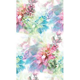 papel-de-parede-floral-degrade-colorido