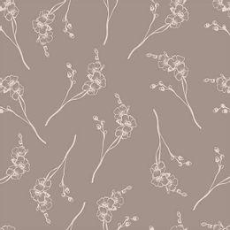 papel-de-parede-orquidea-vintage-marrom