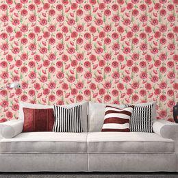 papel-de-parede-tropical-arranjo-de-flores-rosa-claro