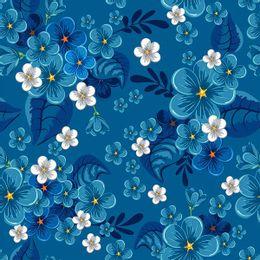 papel-de-parede-tropical-florido-azul-cobalto